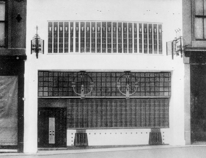 Mackintosh at the Willow - the original Willow Tearooms building, established in 1903.