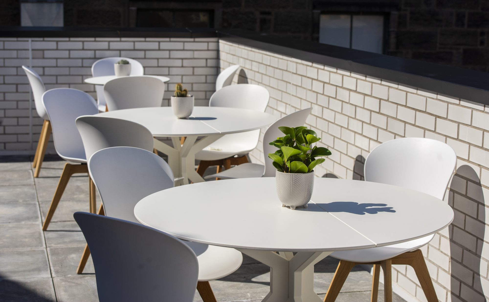 Reaching new heights with our rooftop terrace